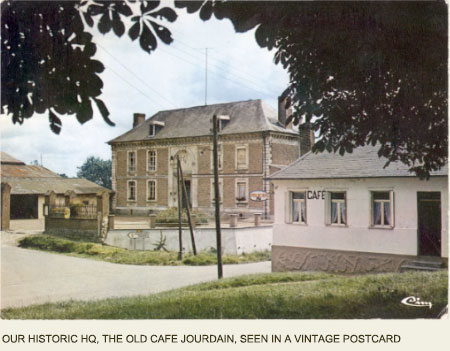 Old Café Jourdain at Mailly-Maillet, Somme France